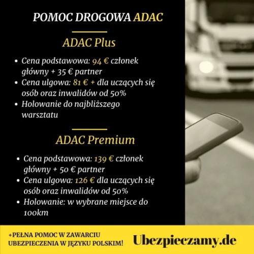 Pomoc Drogowa Ubezpieczenie ADAC